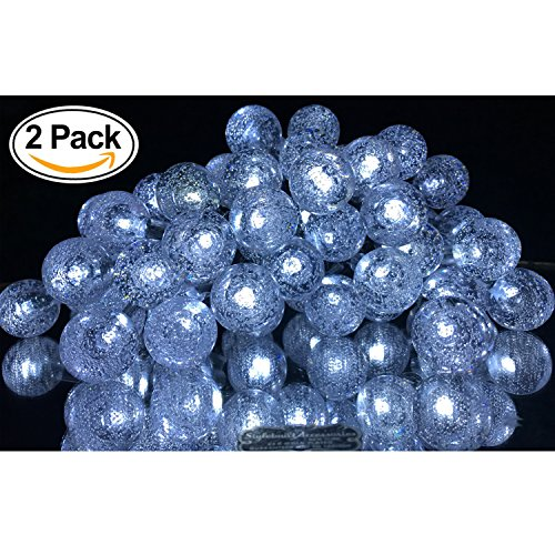 Solar Powered Led Holiday String Lights - 8