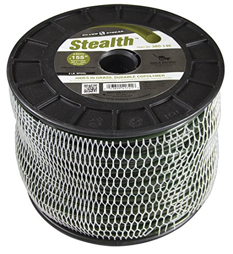 Silver Streak Stealth Trimmer Line.155 5 lb. Spool, ea, 1