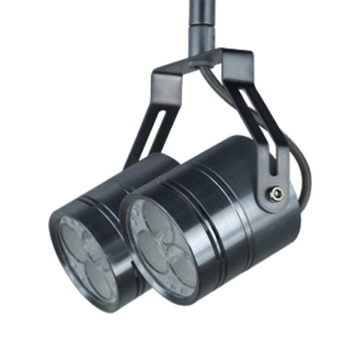 Satin Nickel Finish Jesco Lighting QASL187X6-30SN Valentina Quick Adapt LED Spot Light