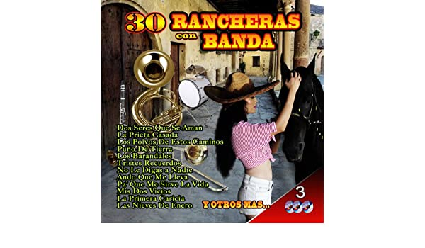 30 Rancheras Con Banda: Various : Amazon.es: Música