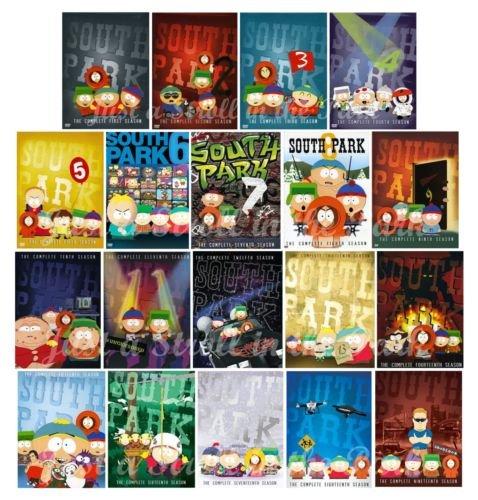 South Park Complete Seasons 1-19 Bundle by