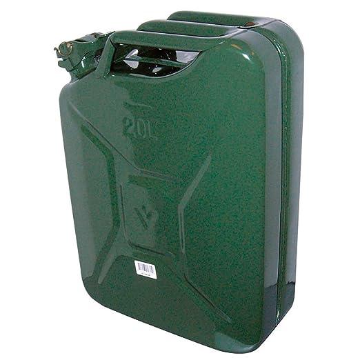 5 opinioni per Carpoint 0110009 Tanica da 20 L in Metallo, TUV/GS, Verde