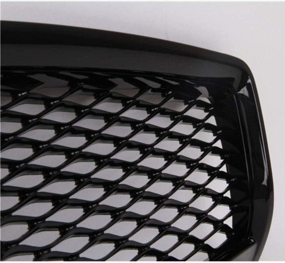 ABS Rein Grilles de Engrener Pare-Chocs Avant de Course pour Infiniti Q50 Q50L 2014-2017 Accessoires de Style de Voiture Gemmry Calandres Avant et de Radiateur Auto