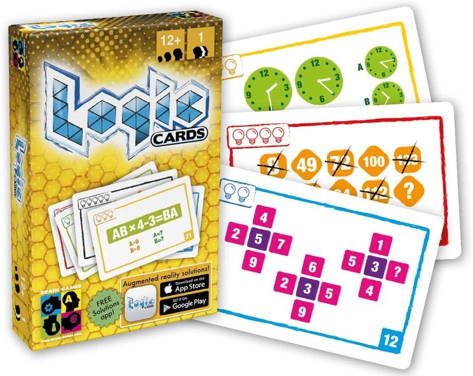 BGP5120 Brain Games Color Amarillo Logic Cards Juego de Cartas