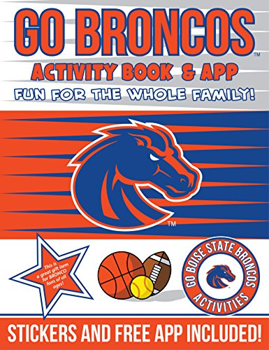 In The Sports Zone NCAA Boise State Broncos Kids Activity Book, One Size, Orange