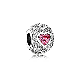 Abalorio Charm Pandora 791815CZS Mujer plata Redondo Circonitas: Pandora: Amazon.es: Relojes