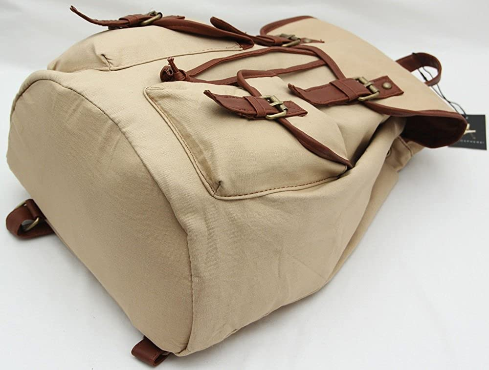 Primark - Bolso mochila para mujer Beige beige: Amazon.es: Ropa y accesorios
