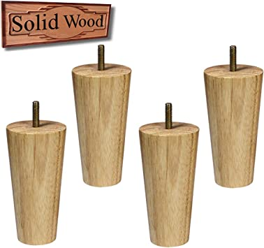 Victorian Style Plant Stand lamp Table Legs Unfinished Wood Set of 4