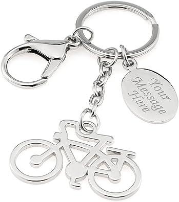 Bicicleta personalizada / llavero de bicicleta / llavero en caja ...