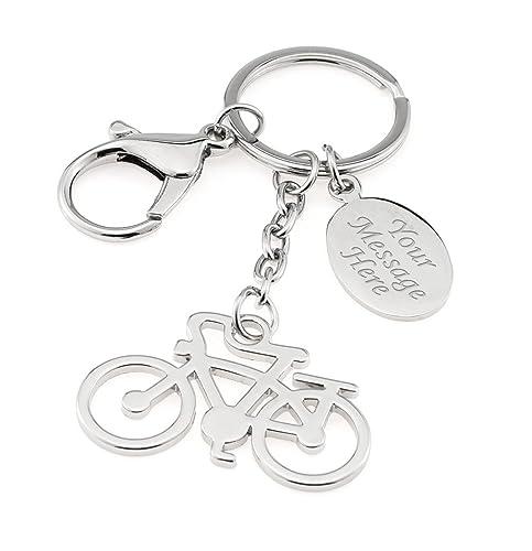 Bicicleta personalizada / llavero de bicicleta / llavero en ...