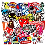 Brand Stickers, 101 Pcs Vinyl Waterproof Stickers, for Laptop, Luggage, Car, Skateboard, Motorcycle, Bicycle Decal Graffiti Patches (Stickers - 3)