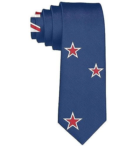 Corbata Corbatas Divertidas Colorido Usa Nueva Zelanda Bandera ...