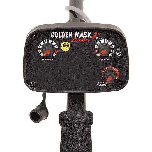 Detector de metal metaldetector con bobina 9S Golden Mask GM1 + con bobina 9S: Amazon.es: Jardín