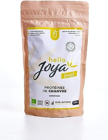 Proteínas vegetales de cáñamo orgánico 400 g Hello Joya ...