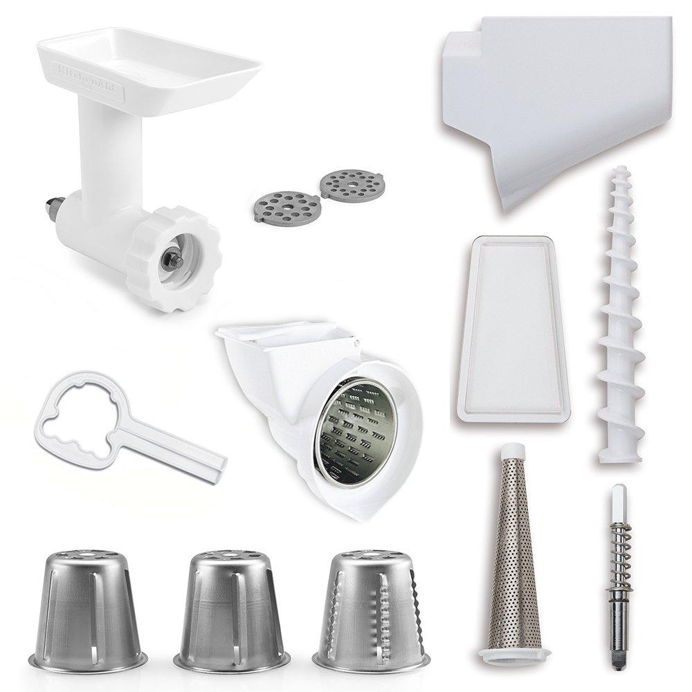 Superior Kitchenaid Fppa Mixer Attachment Pack For Stand Mixers #9: Amazon.com | KitchenAid FPPA Mixer Attachment Pack For Stand Mixers: Mixer Accessories: Pasta Bowls