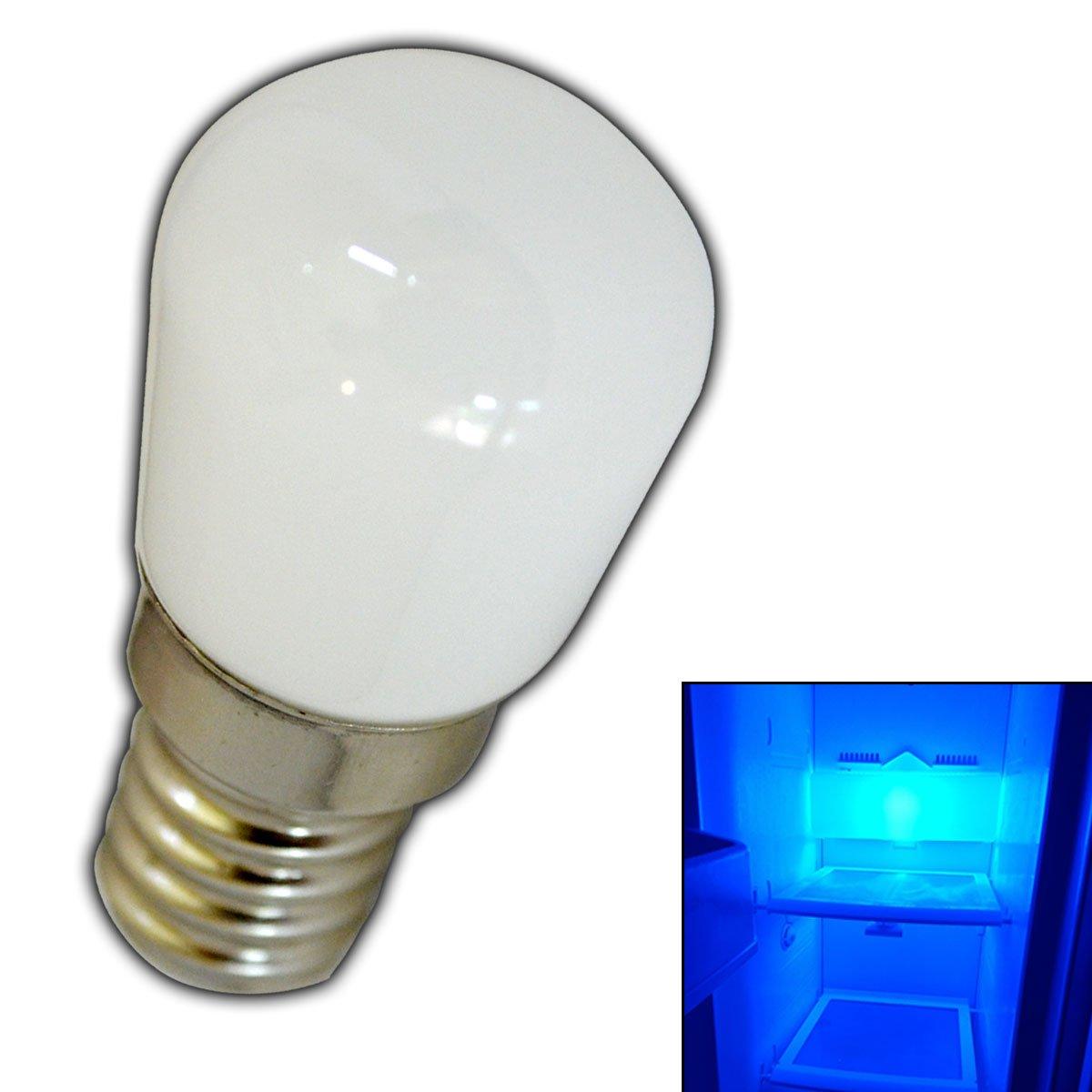 E14 led lampe 15 watt blau blaulicht fr den khlschrnke e14 led lampe 15 watt blau blaulicht fr den khlschrnke lampen uvm e14ses leuchtmittel khlschrank birne glhbirne ersatz amazon beleuchtung parisarafo Images