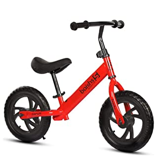 12'' Baby Walker Balance Bike No Pedal Walking Balance Training Bicycl for Kids and Toddlers 2 to 5 Years AITOCO