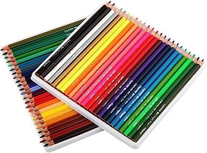 Cosanter 1 Caja 48 Colores Profesional 48 Colores Dibujo Pintura Color LáPiz De Madera Pintura Profesional Boceto Color LáPiz: Amazon.es: Oficina y papelería