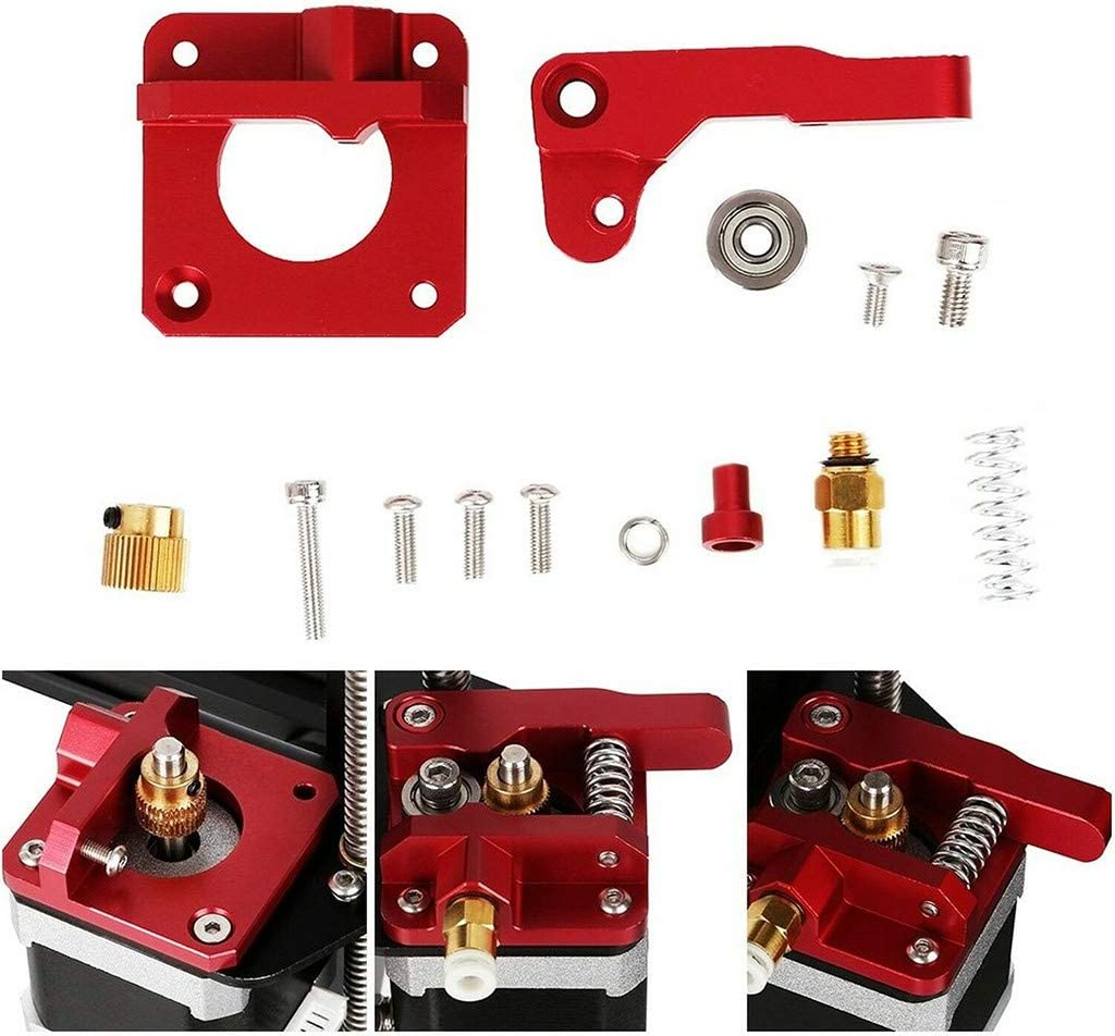 Tools /& Home Improvement,Aluminum Frame MK8 Extruder Upgrade Kit for Creality 3D Printer CR-10//10S Ser Home /& Garden