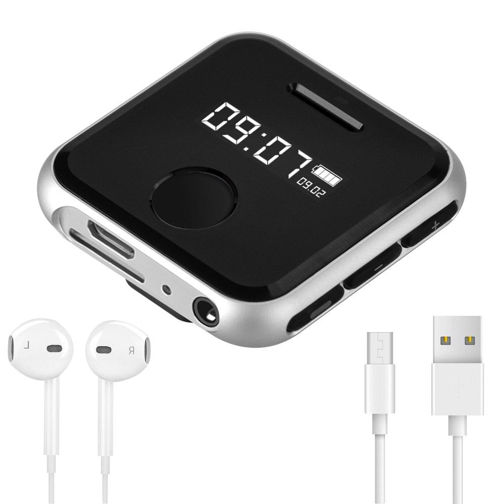 Reproductor MP3 Deportivo con Clip Olycism 8GB Mini Mp3 (Radio FM Portátil/Grabación/Interruptor de Tiempo/Micro SD Card/Lossless Sound): Amazon.es: ...