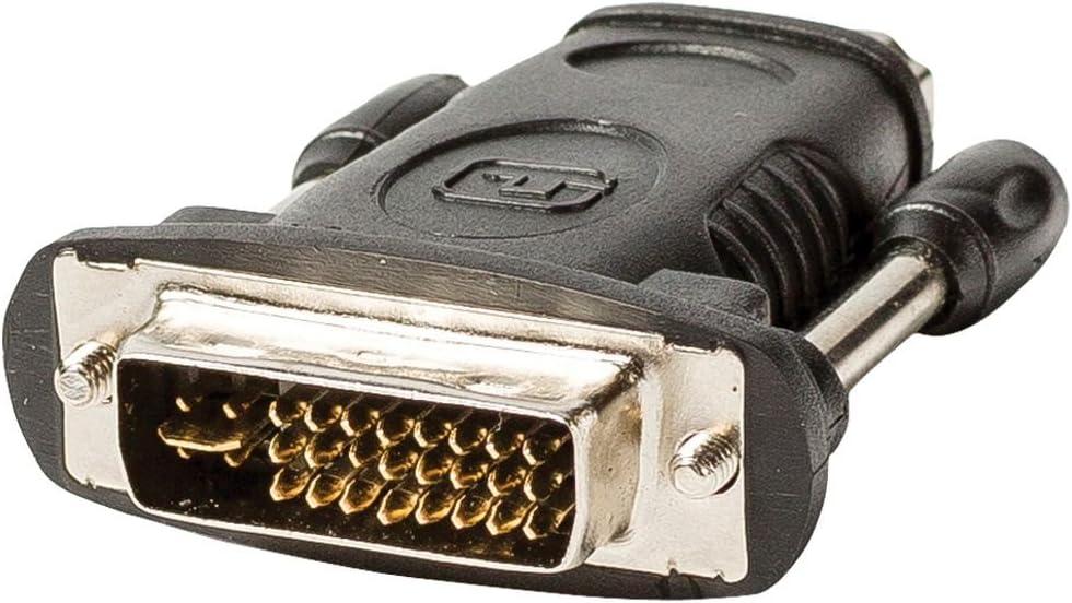 Valueline VLVP34912B Adaptateur DVI vers HDMI Noir