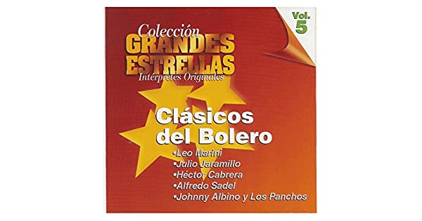 Amazon.com: Clasicos del Bolero, Coleccion Grandes Estrellas ...