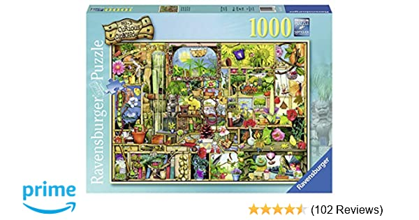 Ravensburger The Gardener's Cupboard 1000 Piece Jigsaw Puzzle for Adults –  Every Piece is Unique, Softclick Technology Means Pieces Fit Together