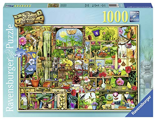 Ravensburger The Gardener's Cupboard 1000 Piece Jigsaw Puzzle for Adults - Every Piece is Unique, Softclick Technology Means Pieces Fit Together - Holiday Tidbit Tray