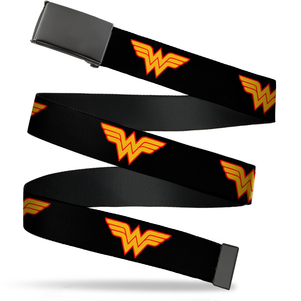 Buckle Down boys standard Buckle-down Web Belt Wonder Woman 1.5