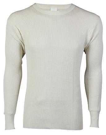 5ed1c84f Indera Big & Tall Men's Thermal Crew Shirt Heavyweight Long Johns at Amazon  Men's Clothing store: