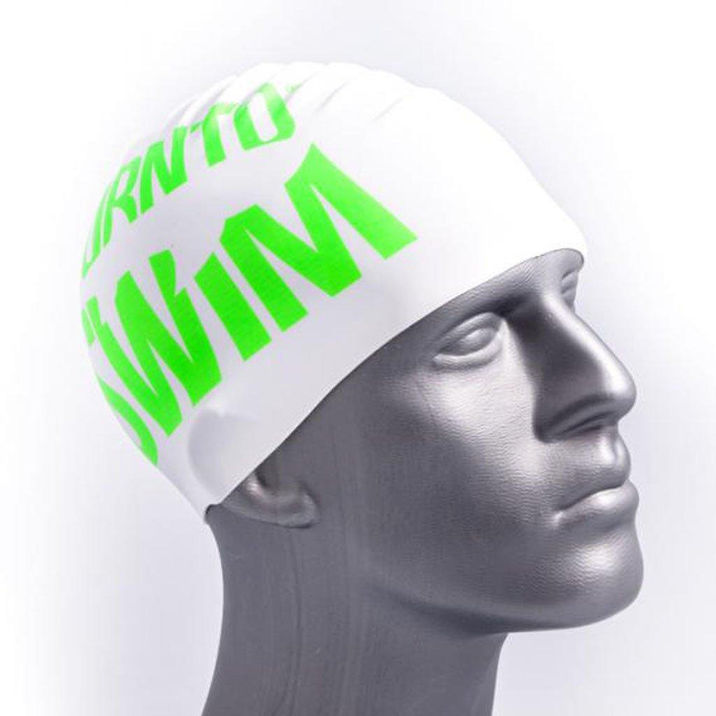 Bor NTO Swim Cuffia da nuoto in silicone Nuoto con Hai Motive ... 2e2cb4f2f79c