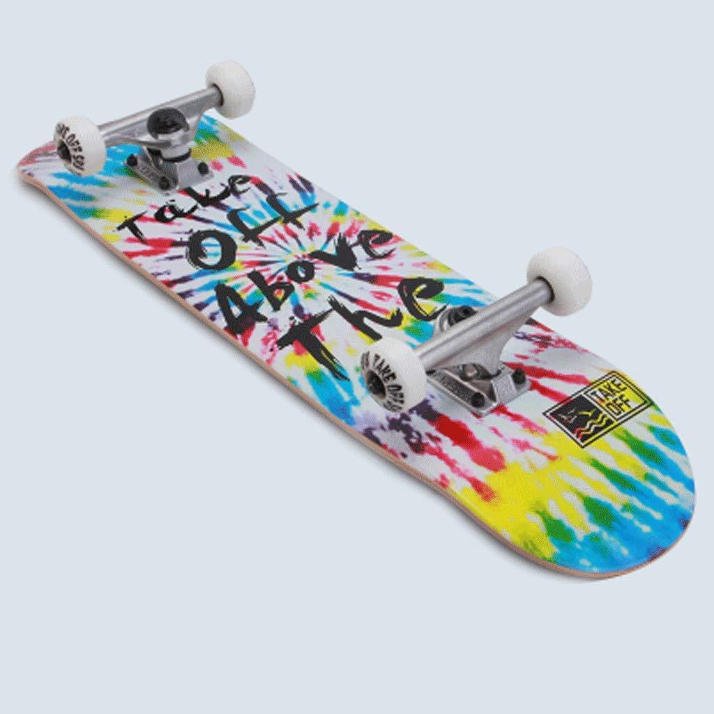 Kurzes Board Board Board Maple Doppelt abfallendes Board Street Board Anfänger Street Skills Erwachsene Skateboard Praxis Professionelle Aktion B07PZ3RH5L Longboards Internationale Wahl b0716a