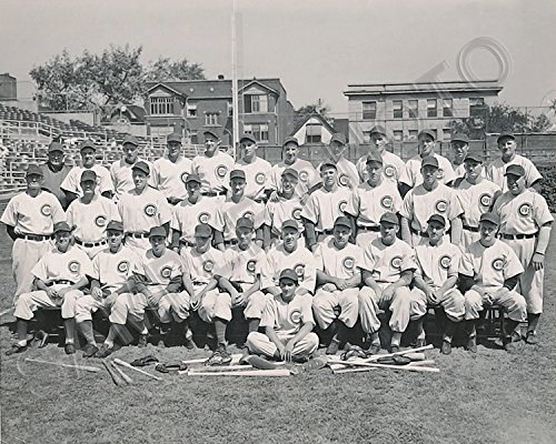 1945 Chicago Cubs NL Champions World Series 8x10 Team Photo Picture (Cubs Chicago 1945)
