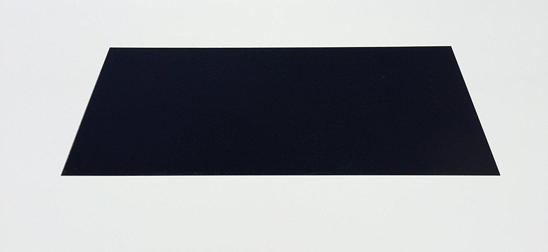 0, 5 mm in fibra di vetro blaha FR4 pannello Dimensioni circa 500 x 210 mm vetro duro tessuto nero masterplatex