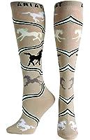Ariat Women's Spirited Horse Knee High Socks