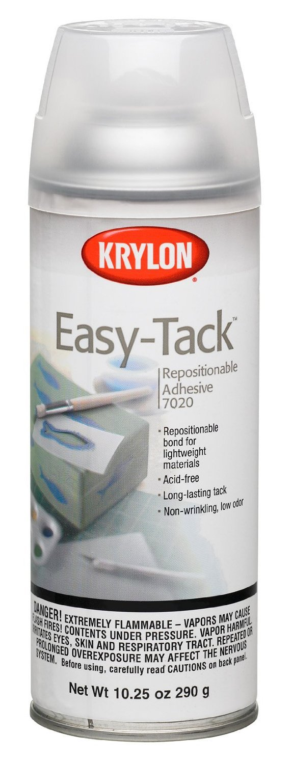Easy-Tack Spray Adhesive-10.25oz Krylon