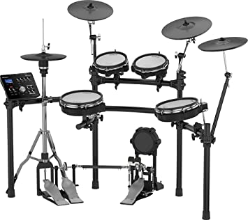 Roland High-performance, Mid-level Electronic V-Drum Set (TD-25KV) with 10