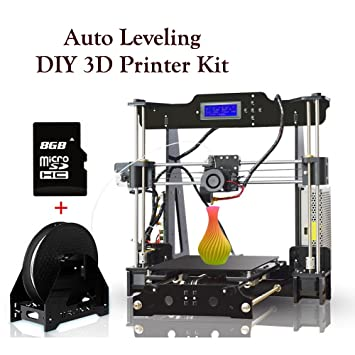 3D Printers Prusa i3 Auto Leveling Desktop 3D Printer DIY Kit Self ...