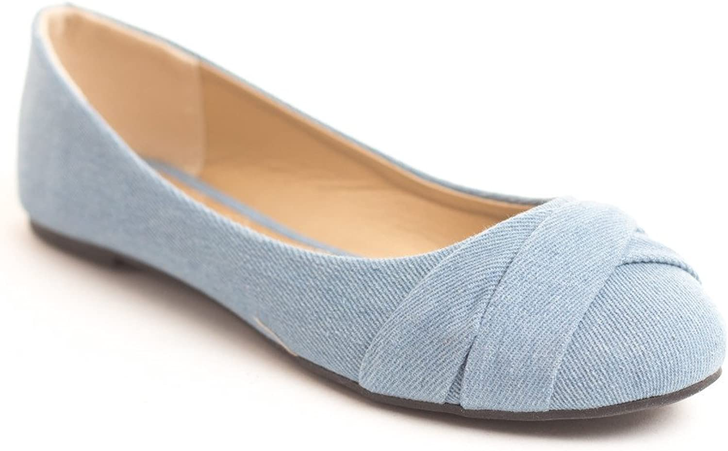 closer at save off classic fit Soho Shoes Women's Casual Flat Slip On Ballet Loafers Comfy Flats US Size  6-11