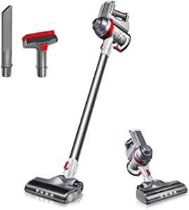 Deik Cordless Vacuum Cleaner Wall-Mount Silver