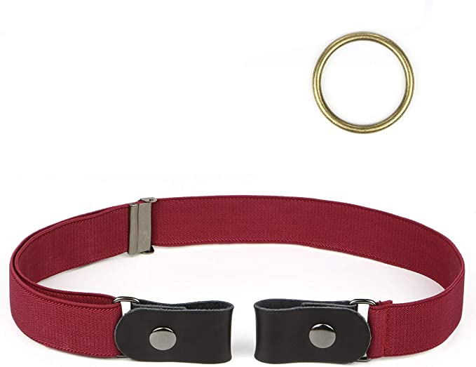 Lalafancy Actualizado Cinturón elástico sin hebilla para