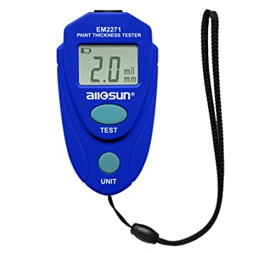 All Sun Em2271 Blue Digital Painting Thickness Meter Amazon