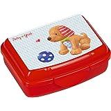 Spiegelburg Brotdose L/öwe Snackbox Lunchbox Melamin Schule Kinder Blau