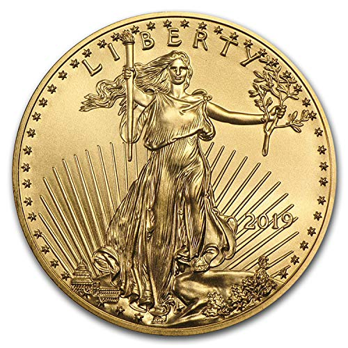 2019 1/4 oz Gold American Eagle BU (1/4) Brilliant Uncirculated