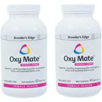 Revival Animal Health Breeder's Edge Oxy Mate (2 Pack, 120 Total Chews) Prenatal Soft Chews for Medium & Large Dogs…