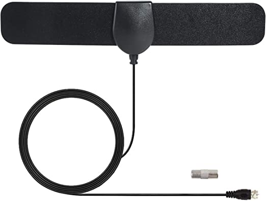 WFGZQ Antena TV Interior- Bqeel Antena TV portátil HDTV Digital con Amplificador de señal Inteligente para Canales de TV 1080P 4K gratuitos para DTMB, ATSC,DVB-T, DMB-T,ISDB -T: Amazon.es: Hogar