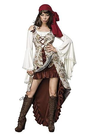 Mask Paradise Luxus Piratenbraut Pirat Piratin Kostum Damen Karneval