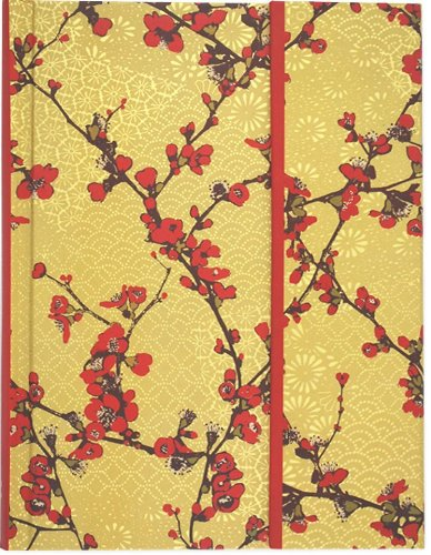 Japonica Journal (Diary, Notebook) (Fold-Over Journal) - Fold Over Stationery