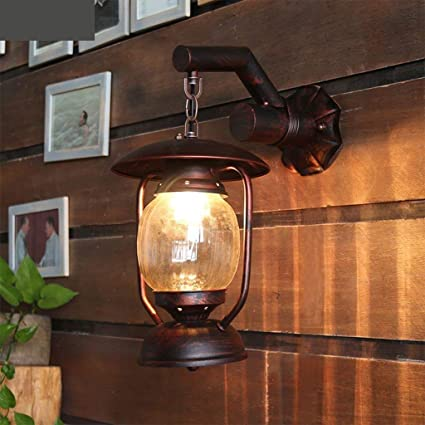 XQY Home Decoration Wall Lamp Hotel Cafe Restaurant LampsAmerican Pastoral Aisle