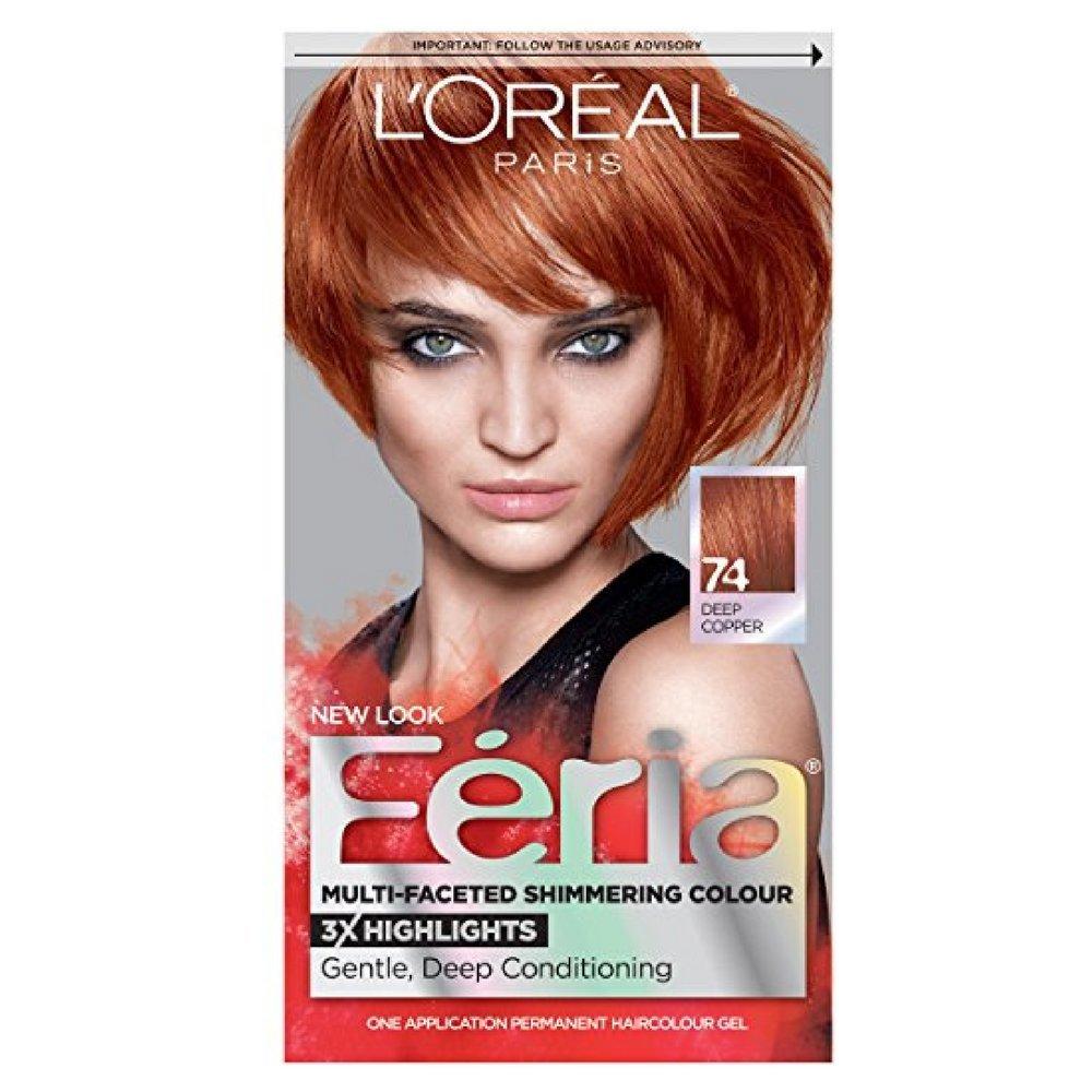 Amazon Loral Paris Feria Permanent Hair Color 74 Copper